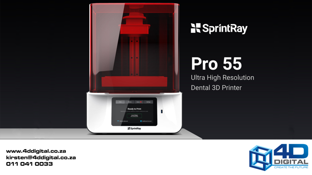 Sprintray pro 55 4d digital